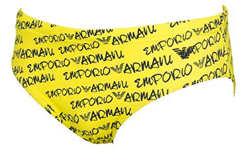 Emporio Armani Costume Slip Giallo 211723 0P415 (46 S IT Uomo)