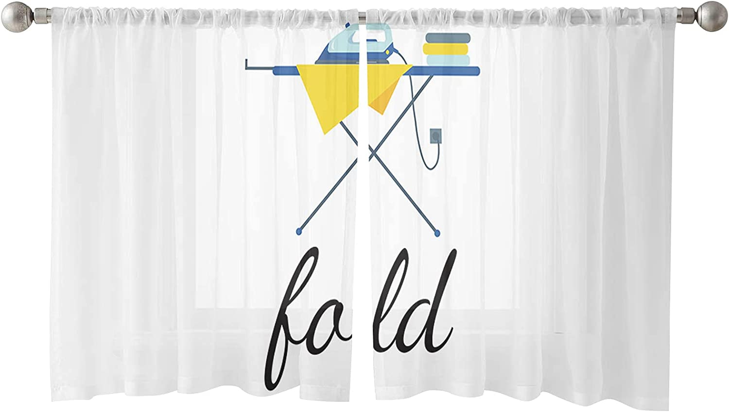 Laundry Room Theme Fold Clothes and Iron shopping Max 82% OFF