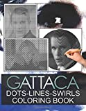Gattaca Dots Lines Swirls Coloring Book: Gattaca Collection Diagonal Line, Swirls Activity Books For Adult And Kid
