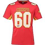 Fanatics Kansas City Chiefs T Shirt NFL Fanshirt Jersey American Football Rot - 4XL