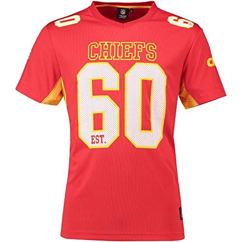 Fanatics Kansas City Chiefs T Shirt NFL Fanshirt Jersey American Football Rot - 3XL