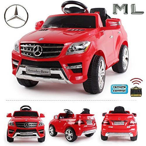 RC Kinderauto kaufen Kinderauto Bild 1: Original Mercedes-Benz ML 4x4 4MATIC 350 SUV Lizenz Kinderauto Kinderfahrzeug (ROT)*