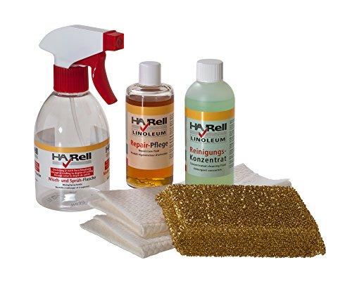 HARell Linoleum Pflegeset - Reiniger Repair-Pflegeset für Linoleum - Möbellinoleum, Desktop und Bodenlinoleum