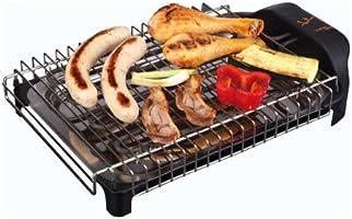 Jata BQ101 Electro Barbacoa Sin Humos Ni Olores Parrilla con 2 Alturas para Cocinar Sano en el interior con Todas las...
