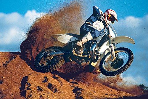 empireposter Motorcycles - Motocross - Desert Motorräder Sport Poster Plakat - Grösse 61x91,5 cm