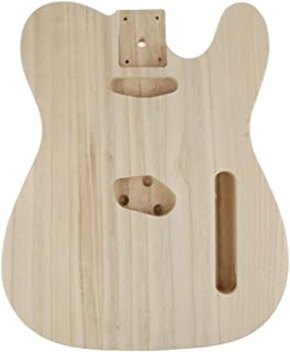 Baosity Hollowed Sanding Guitar Wood Body Barrel for Telecaster Style Electric Guitar