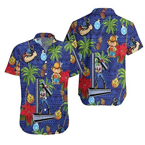 H/Mm Proud to Be Ironworker Hawaiian Shirt