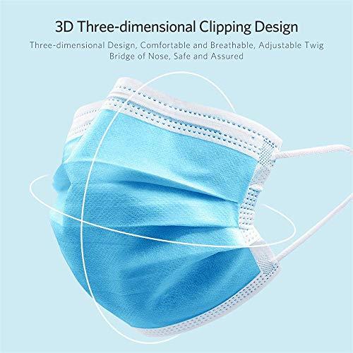 wegwerp chirurgisch en luchtvervuiling gezichtsmasker medische chirurgische tandheelkundige gezichtsmasker (50)