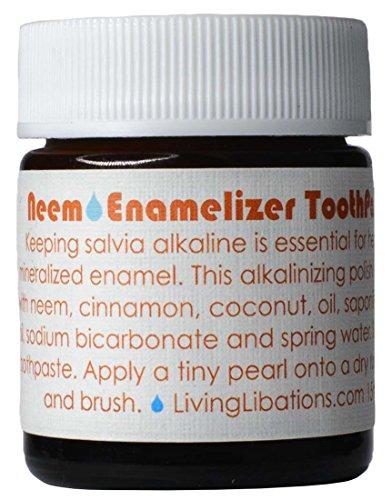 Living Libations - Organic / Wildcrafted Neem Enamelizer Toothpaste (25 ml)