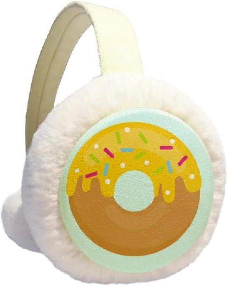 Yellow Cream Doughnut Dessert Sweet Warmer Winter Max 55% OFF Food Cable Superlatite Ear