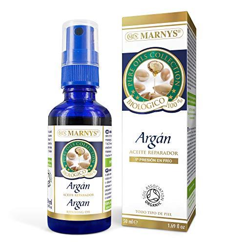 MARNYS Aceite de Argán 100% Biológico Puro Natural Spray 50ml