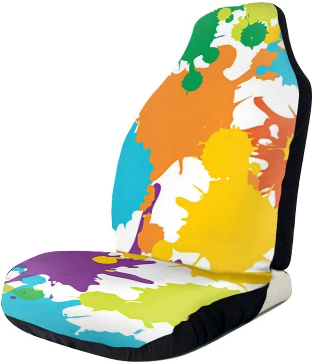 Special Campaign Car Seat New Shipping Free Covers Interesting Paint Painting Vehicle Front 1 S Pcs