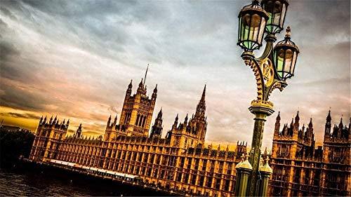 JHEU Puzzle 1000 Stück Holzpuzzle Puzzles & Puzzles Puzzle Diss Westminster Palace London Puzzle Dekoration Familie Kinder Erwachsene