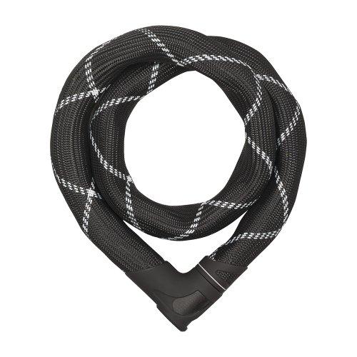 ABUS Kettenschloss Iven 8210/110, Black, 110 cm, 55153 - 2