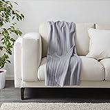 Manta IKEA VITMOSSA gris 120x160 cm, gris, .