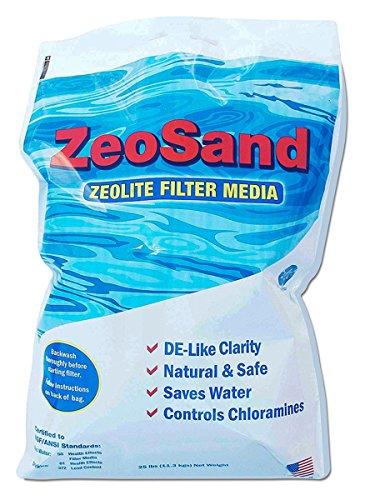 ZeoSand Pool Filter Sand Alternative - 50 lbs.