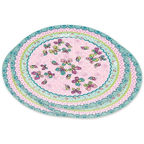 Lutz Mauder Lutz Mauder11252 Tapirella Papillon De Fête pour plaques (8 pièces)