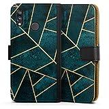 DeinDesign Étui Compatible avec Huawei P20 Lite Étui Folio Étui magnétique Triangles Elisabeth...