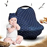 Cool Beans Baby Car Seat Canopy and Breastfeeding Nursing Cover - Multiuse - Covers High...