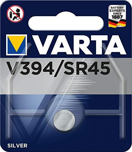 VARTA Batterien Electronics V394 Knopfzelle Uhrenbatterie 1er Pack Knopfzellen in Original 1er Blisterverpackung