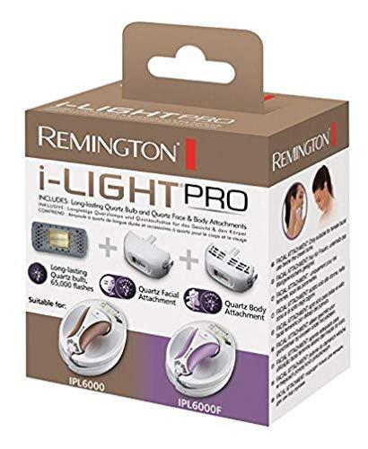 Remington SP-6000FQ Kit Ciso e Corpo al Quarzo Compatibile con IPL6000 e IPL6000F