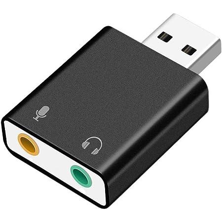 Asbter Usb Externer Soundkarte Adapter For Windows Und Computer Zubehör