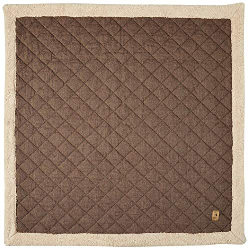 Azumaya Kotatsu Futon Square (75 x 75 Inches) Brown KK-101BR 100% Polyester Fabric
