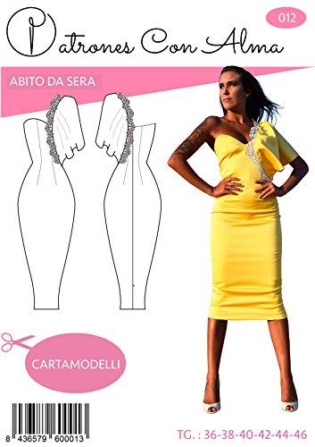Patrón Vestido Fiesta Amarillo (38)