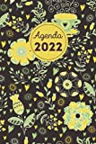 Agenda 2022: Agenda giornaliera 2022 A5 - agenda 365 giorni - calendario da gennaio a dicembre 2022 - 1 pagina 1 giorno.
