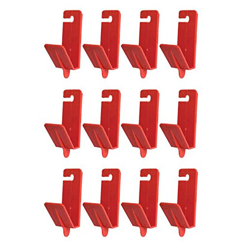 Fastcap CROWNMOLDCLIP Crown Molding Installation Heavy Duty ABS Clips, 12-Pack