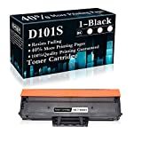 1 Black MLT-D101S Toner Cartridge Replacement for Samsung Xpress ML-216x 2160 2161 2165 2165w 2166w SCX-340x 3400 3400F 3400FW 3405 3405FW 3405F SF-76x 760 760P Printer,Sold by TopInk