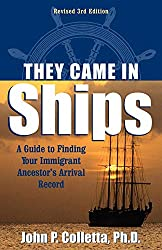 they came in ships teaches you about immigration records