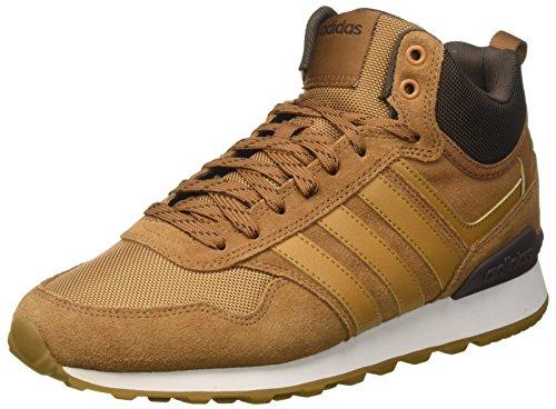 adidas 10Xt WTR Mid, Zapatillas Altas Hombre, Marrón (Timber S5-st/Mesa/Dark Brown), 46 2/3 EU