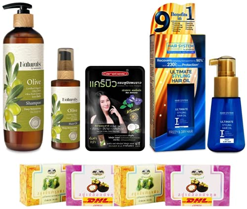 Set A75 Natural by Watsons Olive Shampoo System Wa By Large special price !! Selling rankings 490ml Hair
