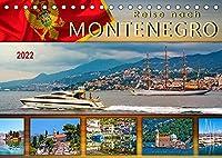 Reise nach Montenegro (Tischkalender 2022 DIN A5 quer): Eine Reise in das abwechslungsreiche Land an der Adria. (Monatskalender, 14 Seiten )