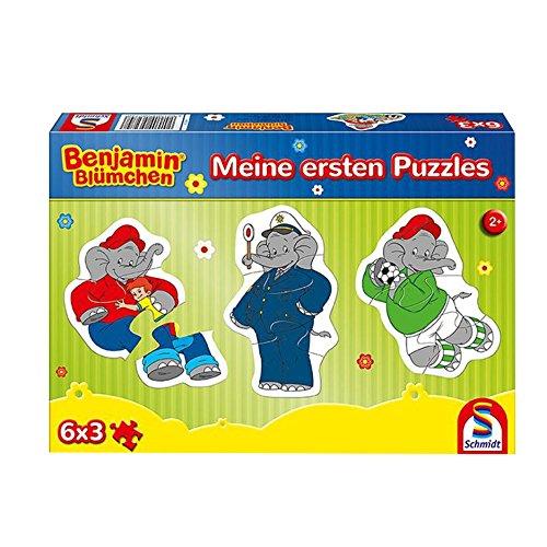 Schmidt 56274Mi Primer Puzzle Benjamin Blümchen 6x 3