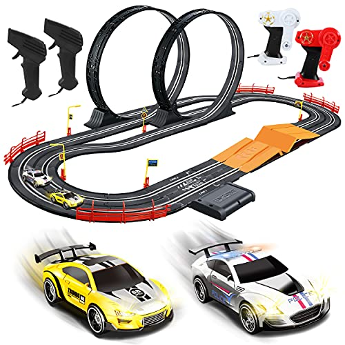 Kids Toy-Electric Powered Slot Car Race Track Set Boys Toys for 3 4 5...