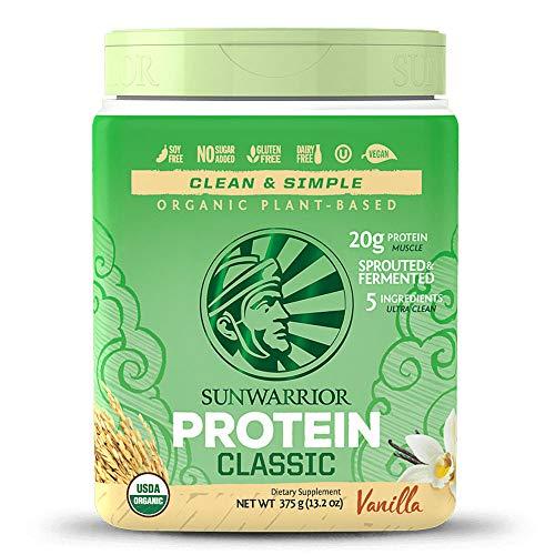SUNWARRIOR Classic Rice Protein Vanilla, 375 g