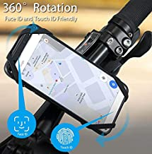 Spider Sports Armband Case for iPhone X 8 7 XS MAX Universal 360 Degree Rotatable Wrist Running Sport Wristband for 4-6 inch Phone Bicycle Holder (Bicycle)
