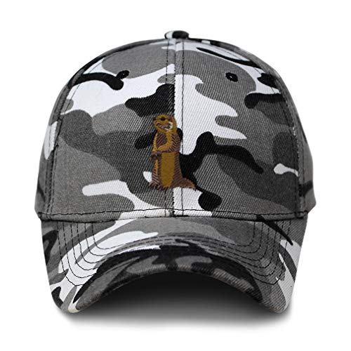Speedy Pros City Camo Baseball Cap Groundhog Embroidery Acrylic Hunting Dad Hats for Men & Women Strap Closure City Camo Design Only