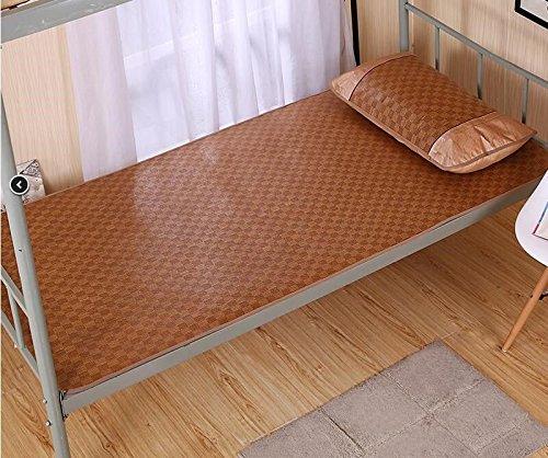 LIANGXI Summer Tapis de 1,2 Simple 0.9 metres, Student Dormitory Tapis de Paille 1.8 m Lit Double Pliable Vigne de Table Tapis de 1.5, 0.9m Bed, Square (no Pillow Case)