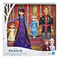 Disney Frozen 2 Arendelle Royal Family 4 Doll Set