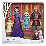 DISNEY FROZEN 2 ARENDELLE ROYAL FAMILY SET: With 4 different characters from Disney's Frozen 2, kids can recreate these characters' adventures from the movie or imagine their own TODDLER ANNA AND ELSA, KING AGNARR AND QUEEN IDUNA: With toddler versio...
