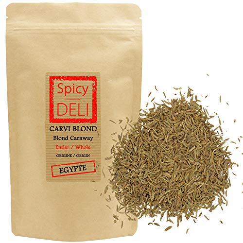 Cumino semi da cucina 'Carum Carvi' 100gr 'borsa richiudibile'.