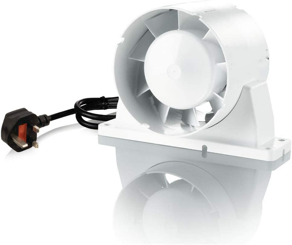 20 inch 1220mm Silent Inline Extractor Duct Fan for Hydroponics Grow ...