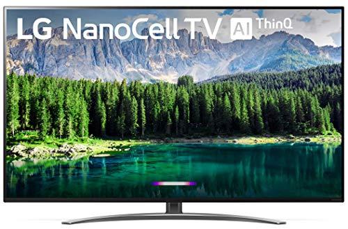 LG 55SM8600 Nano 8 Series 4K 55 inch Class Smart UHD NanoCell TV w/AI ThinQ (54.6 Diag) (Renewed)