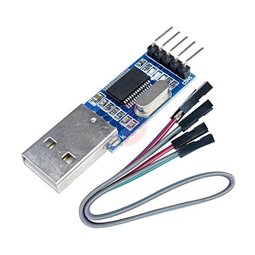 PL2303 USB to RS232 TTL PL2303HX Download Board ISP STC Microcontroller Converter Adapter Module for Arduino with 4Pin Cable