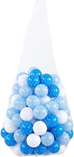 Keenso Toy Ocean Balls, 100 Pcs 5.5cm LDPE Toy Ocean Ball Multicolor Baby Plastic Pit Ball