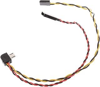 MonkeyJack Micro USB to AV Video Output & 5V DC Power BEC Input Cable FPV for Gopro 3