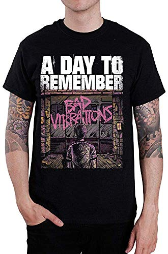 N/N A Day to Remember Bad Vibrations Herren T-Shirt Tours, Schwarz Gr. 56, Schwarz